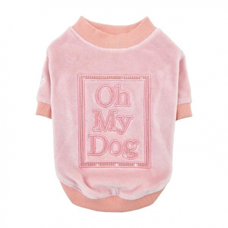SUÉTER OH MY DOG ROSA